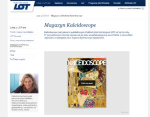 magazyn Kaleidoscope Lot