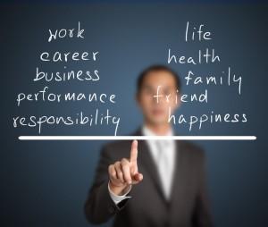 balans między pracą i życiem prywatnym