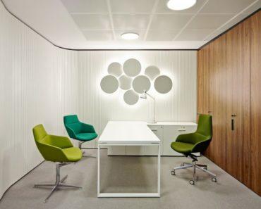 Energooszczędne oświetlenie w biurze