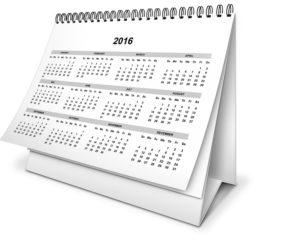 Niektórzy zaznaczają już w kalendarzu dni wolnego w 2016 roku. Źródło: Pixabay.com.