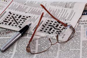 Czytanie gazet regionalnych odchodzi do lamusa. Źródło: Pixabay.com.